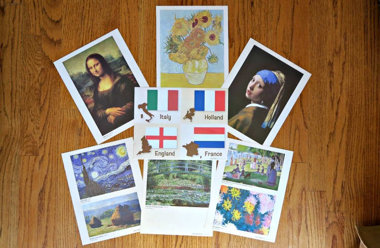paintings from around the world MGT