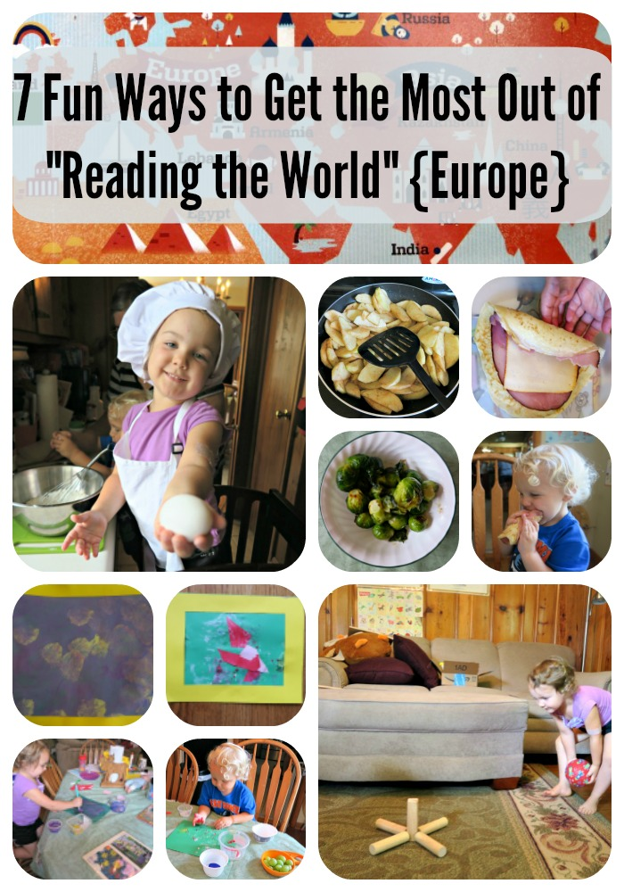 7 Fun Ways to Get the Most Out of Reading the World {Europe}
