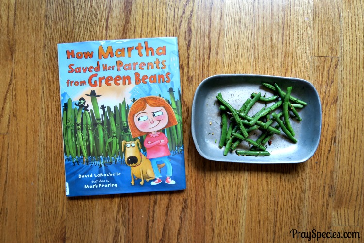 cooking with kids green beans