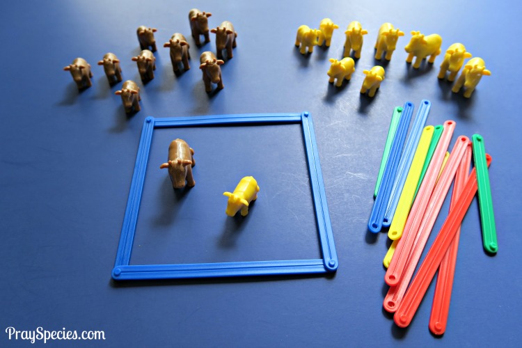 cow-and-link-manipulatives