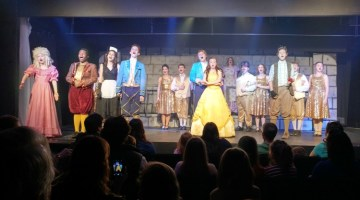 Meeting Beauty and the Beast – Our First Theater Experience at Knoxville Children's Theater