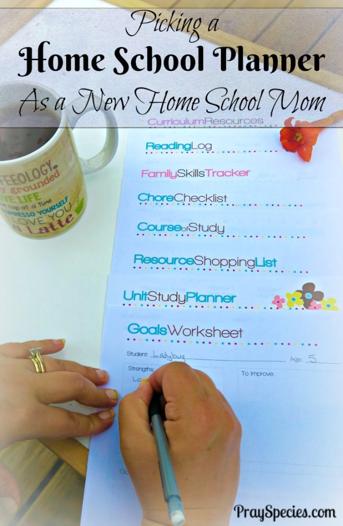 Picking a Home School Planner As a New Home School Mom