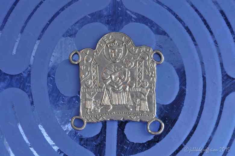 Medieval pilgrimage medal (replica)