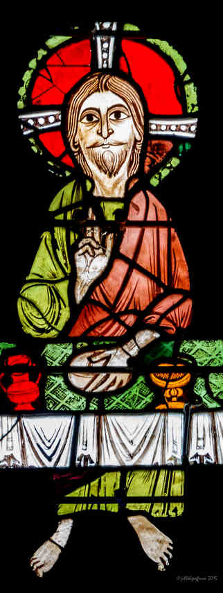 Jesus at table, Emmaus