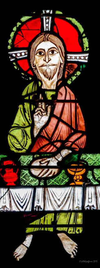 Jesus at table, Emmaus