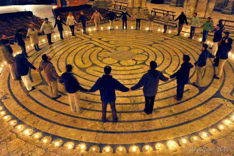 Praying the Labyrinth Together