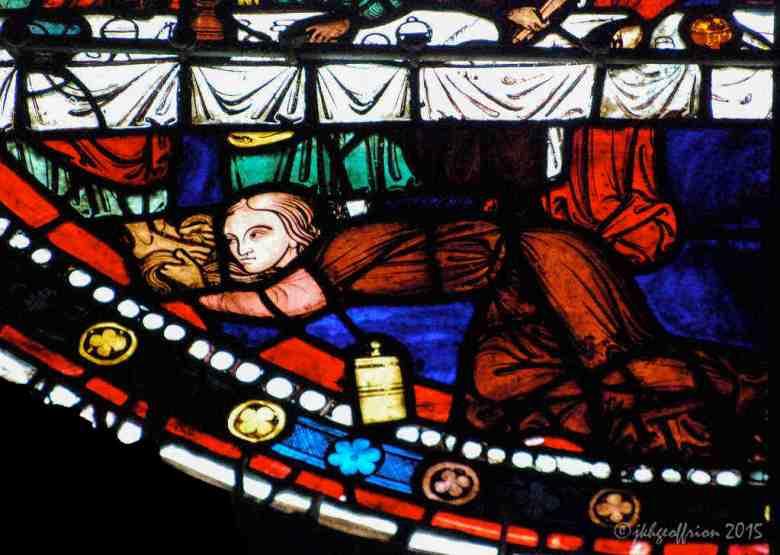 Mary washes Jesus Feet