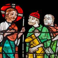 Holy Week in Chartres (8): The Risen Christ on the Road to Emmaus