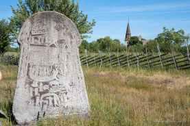 Story stone in Arde by Jill K H Geoffrion
