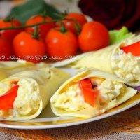 """Закуски  и салаты """"Каллы"""" - варианты рецептов и идеи оформления"""
