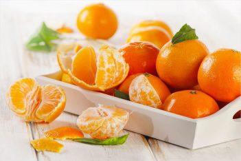 Конкурс с мандаринами