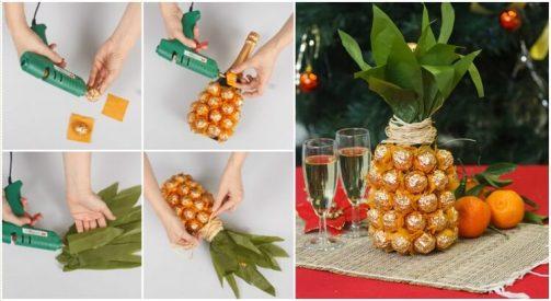 Новогодний ананас