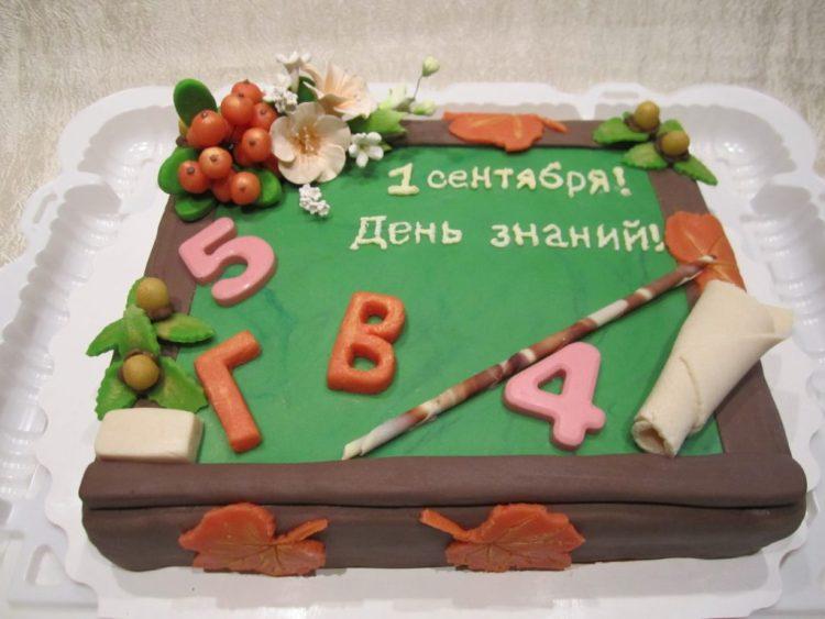 Торт в День знаний