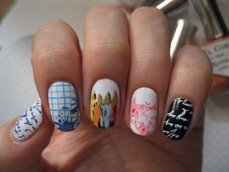 Рисунок на ногтях
