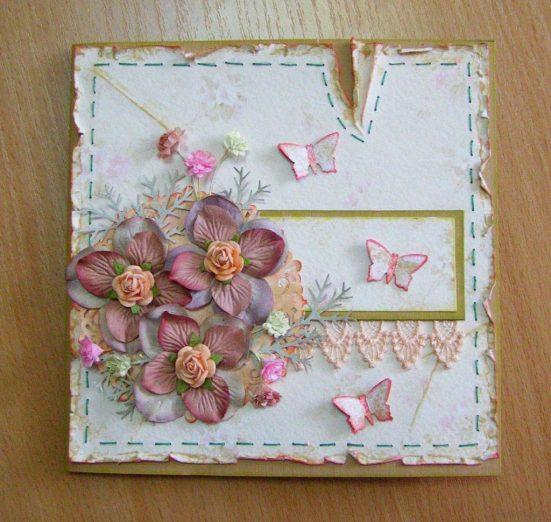 Цветы для открытки