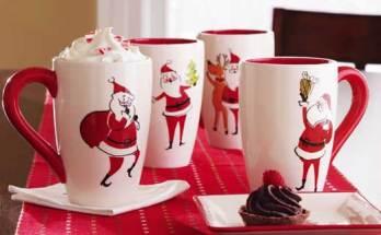 Новогодние чашки