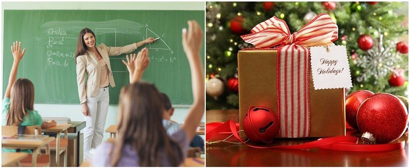 что можно подарить учителю на новый год от класса и от родителей