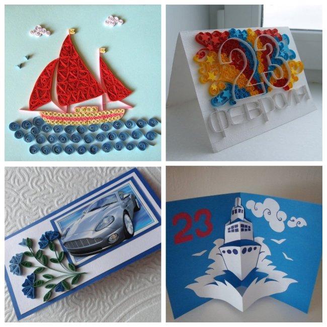 открытки в технике квиллинг и объемные