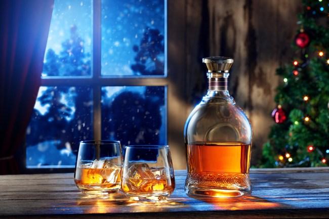 новогодний алкоголь