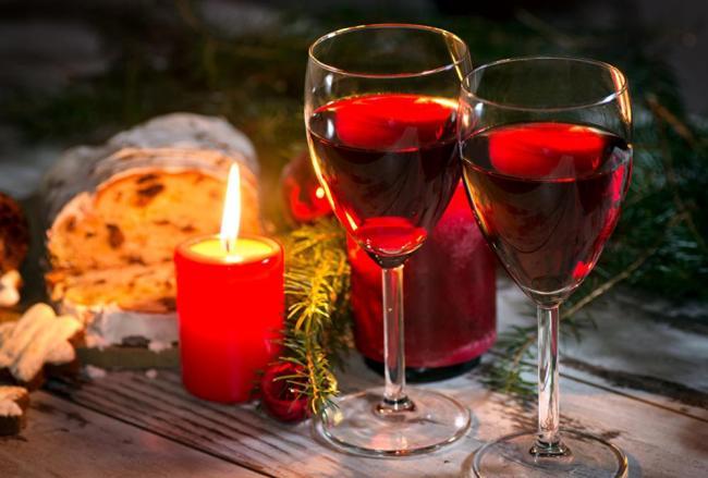 вино на новый год