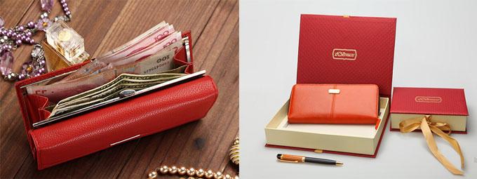 кошелек в подарок женщине