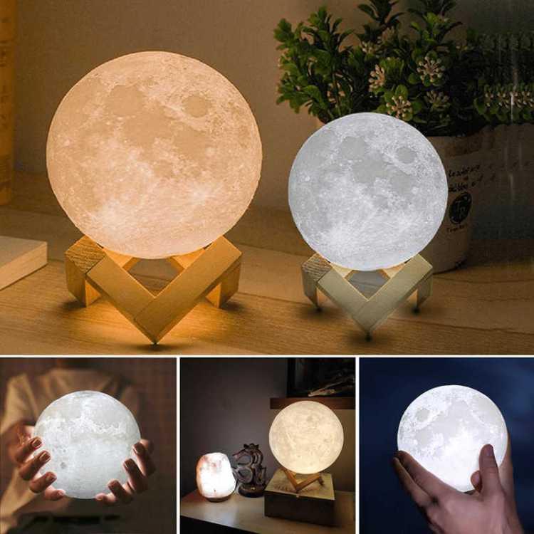 светильник в виде луны