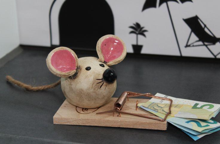 мышка из папье маше