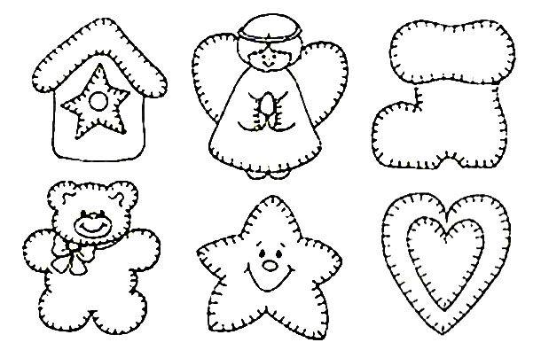 шаблоны для имбирного печенья