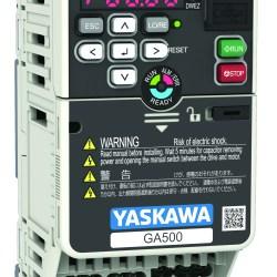 YASKAWA GA500 INDUSTRIAL MICRO DRIVES 1/6-5 HP SINGLE PHASE INPUT