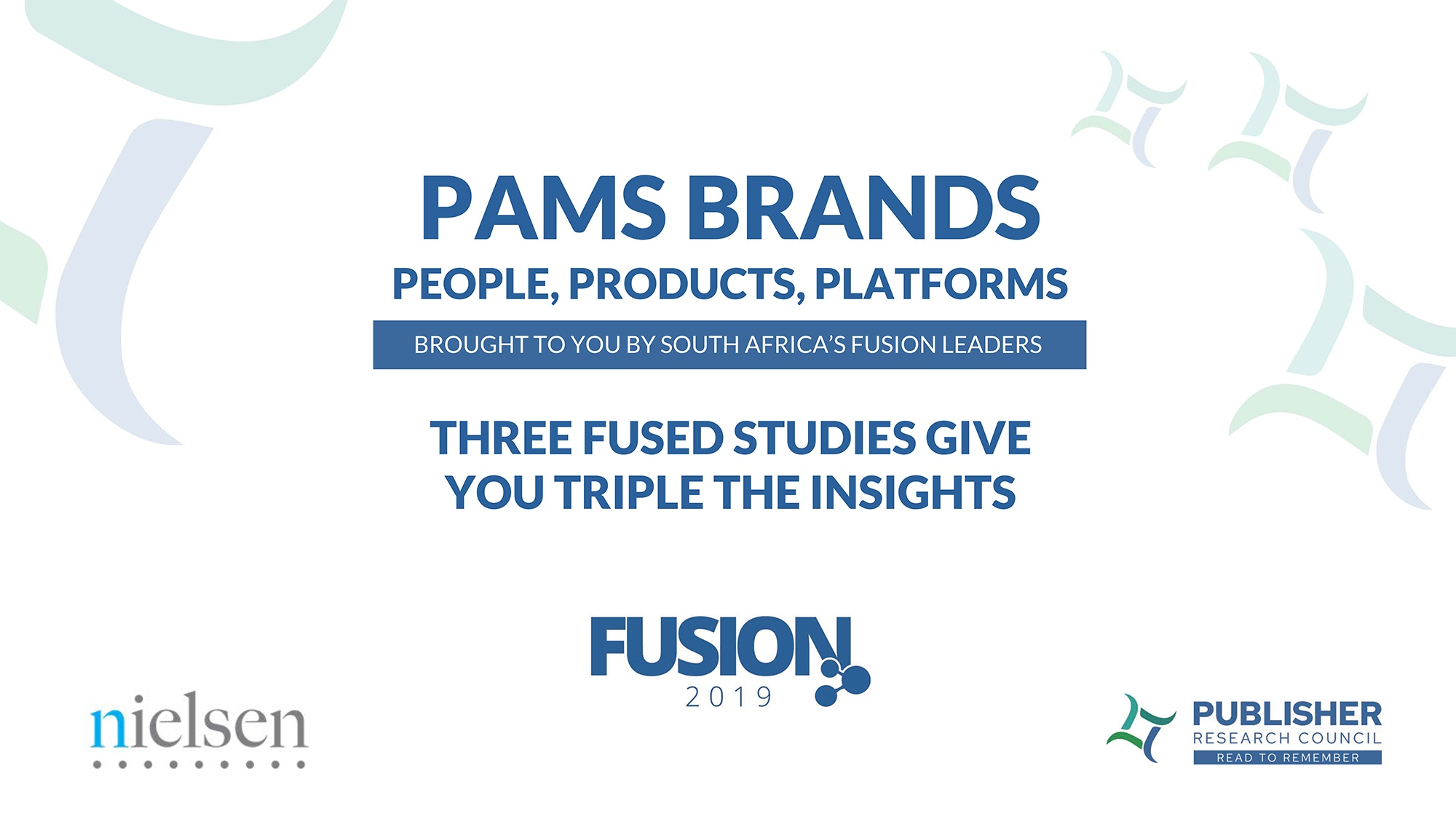 PAMS Brands Fusion – People, Products and Platforms