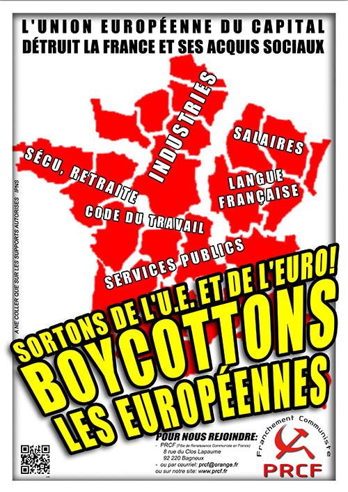 VAGUE D'ABSTENTION AUX ÉLECTIONS EUROPÉENNES !