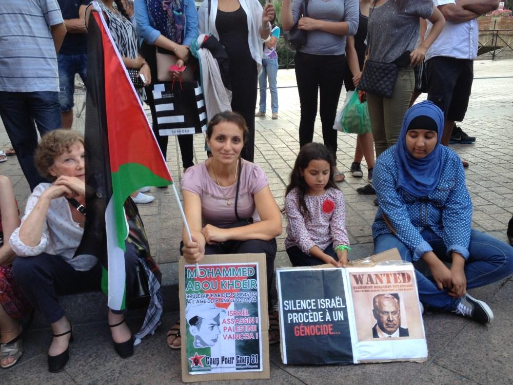 Manifestation de soutien au Peuple Palestinien, Perpignan 23-07-14 (5/6)
