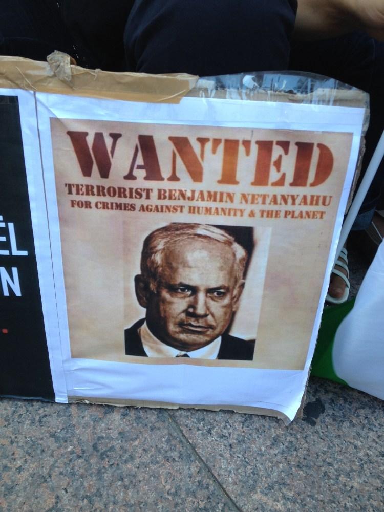 Manifestation de soutien au Peuple Palestinien, Perpignan 23-07-14 (3/6)