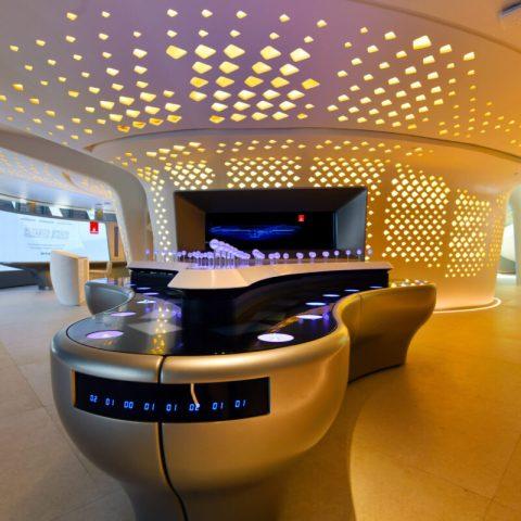 павильон Эмирейтс на выставке Expo 2020 в Дубае