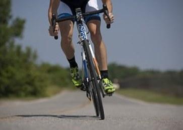 cycling outside