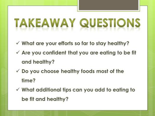 eating tips_questions