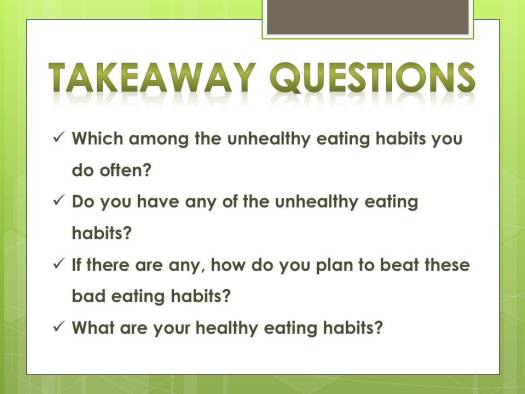 unhealthy eating_questions