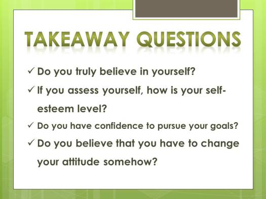 inspire to believe self
