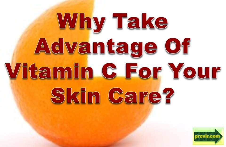 Vitamin C skin care