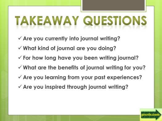 how keeping a journal_q