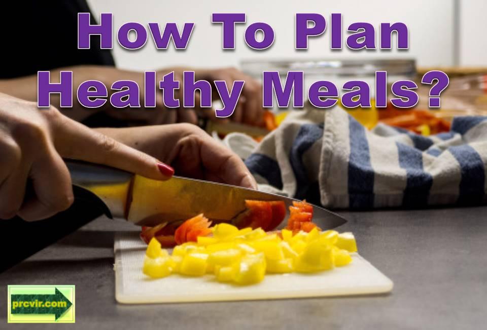 plan healthy meals