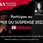 Participez au Prix du suspense psychologique 2022