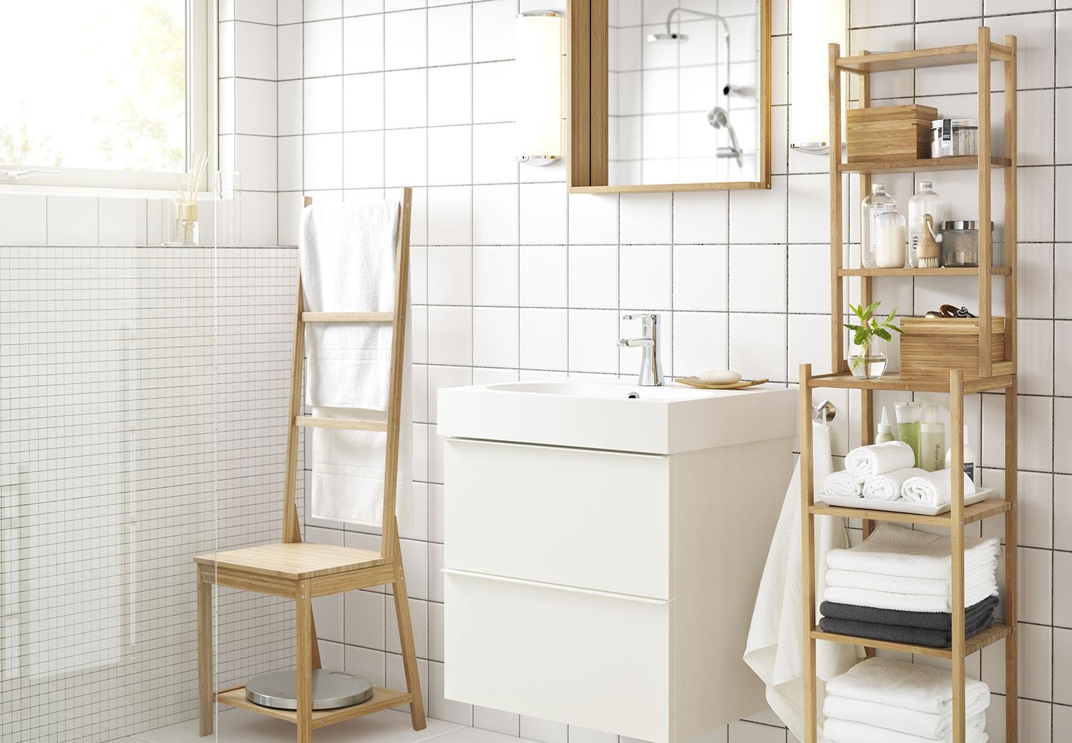 tout pour une salle de bains ikea femme actuelle