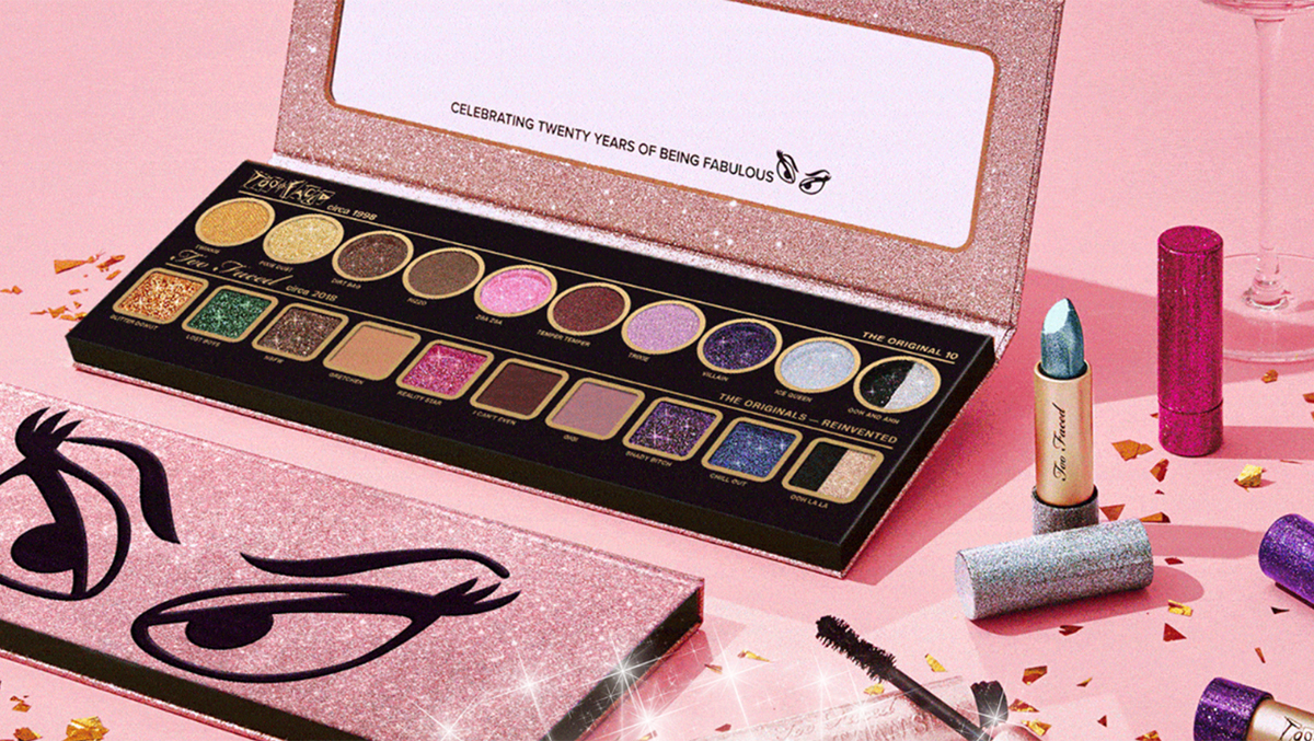 collection anniversaire too faced
