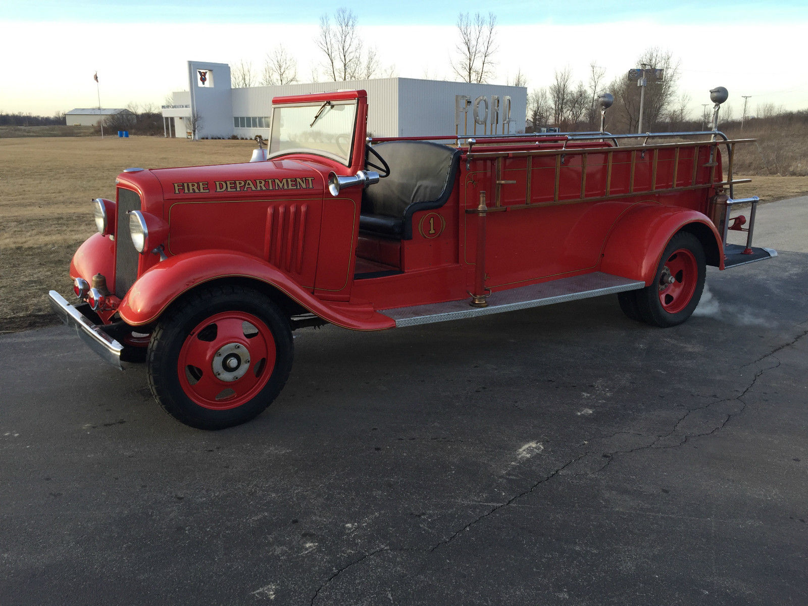 1935 Chevrolet Master American Fire Apparatus Co Fire