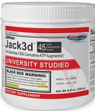 trainingsbooster test USPlabs Jack3d Advanced 230g Fruit Punch