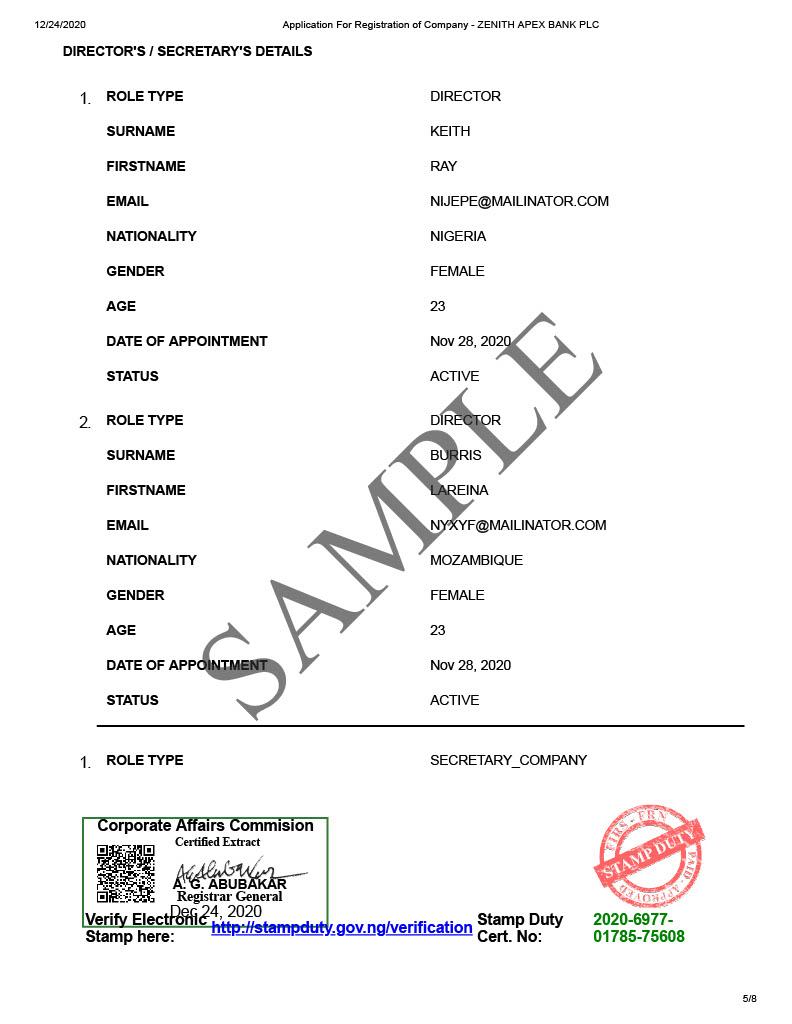 sample status report