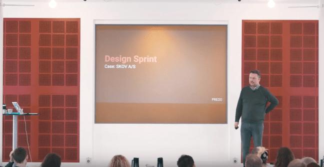 Google Design Sprint presented through case from SKOV A/S by Innovation Consultant Henrik Karlsen