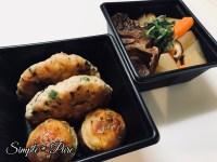 ぶり大根と豆腐ハンバーグ