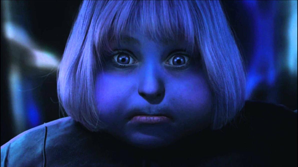 Violet Beauregarde Blueberry Girl